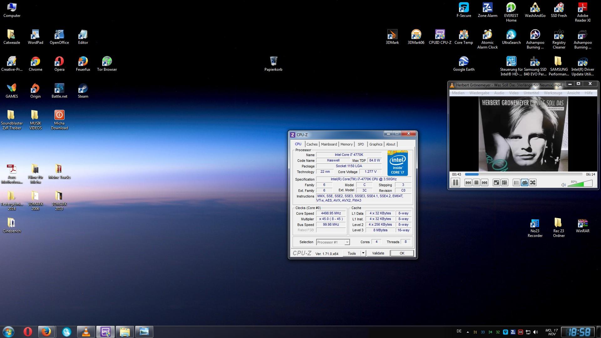 Klicke auf die Grafik für eine größere Ansicht  Name:CPU-Z von Micha 1.jpg Hits:162 Größe:365,2 KB ID:77896