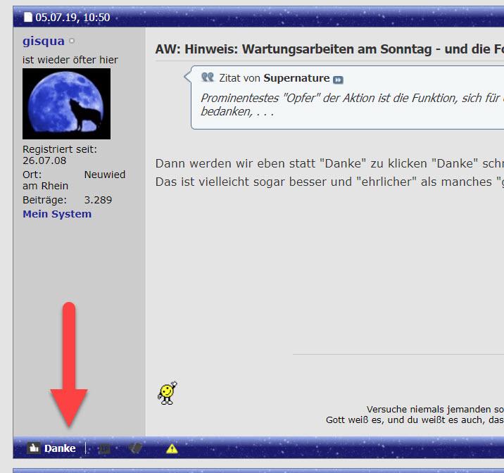 Klicke auf die Grafik für eine größere Ansicht  Name:danke_neuer_platz.jpg Hits:44 Größe:113,0 KB ID:88940